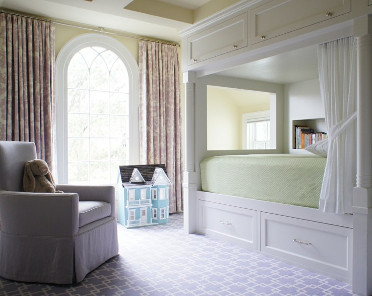 decoracion-de-cuartos-para-ninos-opciones-estilo-vintage.