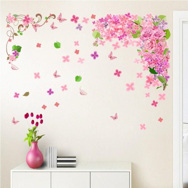 decoracion de habitaciones-flores-primavera