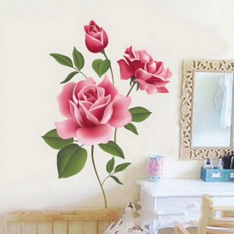 decoracion de habitaciones-flores