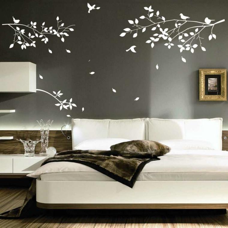 decoracion de habitaciones-motivos-florales