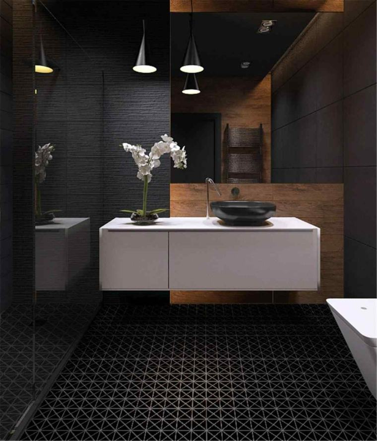 decoracion de interiores-banos-marmol