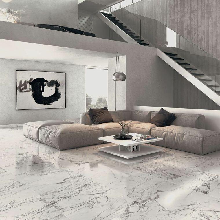Decoracion de interiores con m rmol negro combinaciones for Pintura color marmol