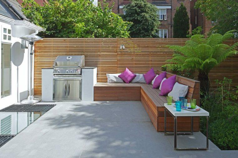 decoracion de terrazas-cojines-colchones