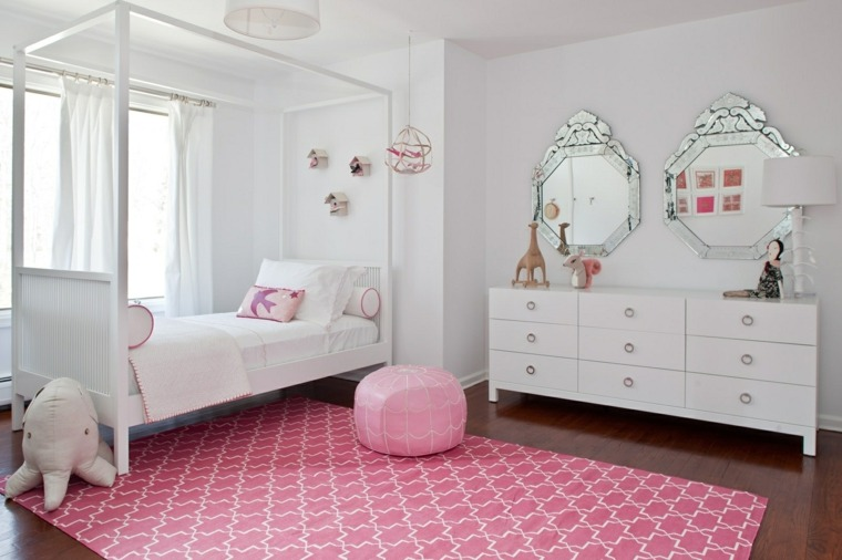 decoracion-dormitorio-nina-idea-blanco-rosa