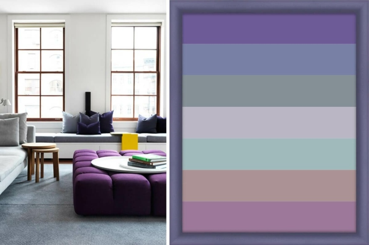 decoracion interior-violeta-ultravioleta