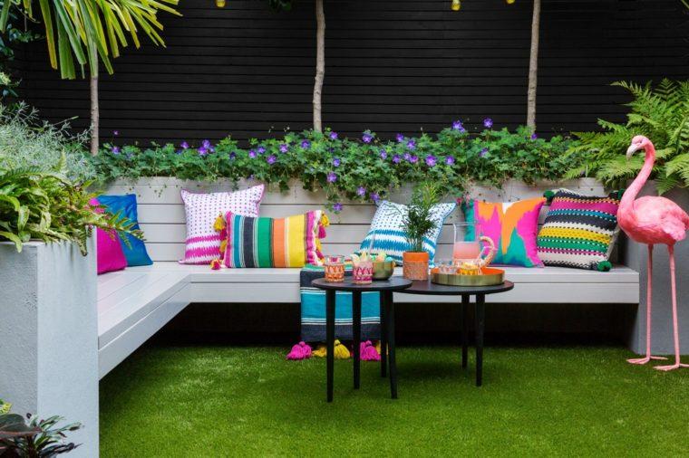 decoracion para terrazas-cojines-colchones