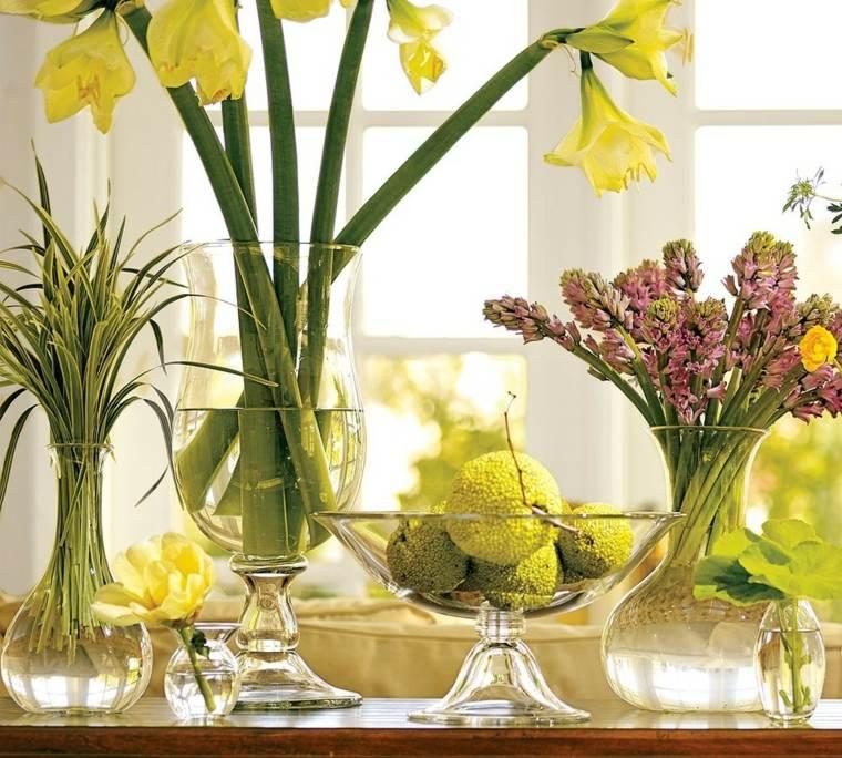 decoraciones para casas-chimeneas-primaverales