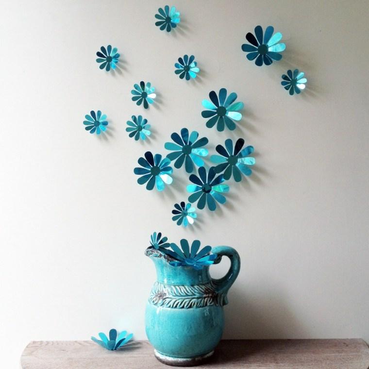 decoraciones para cuartos-flores-originales