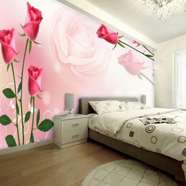 Decoracion de habitaciones con flores para la primavera - Decoraciones para cuartos ...