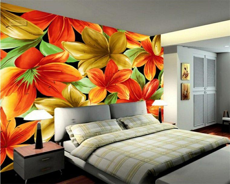 decoraciones para habitaciones-flores