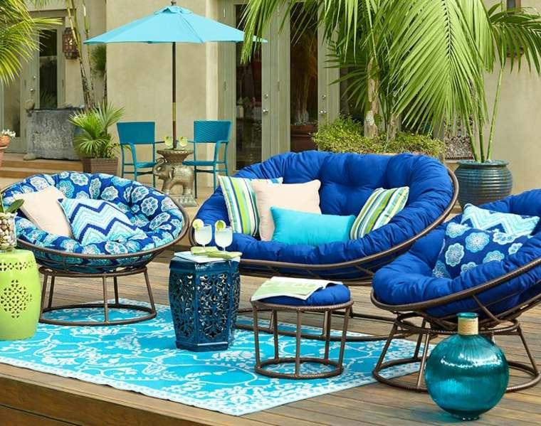 decorar sofa con cojines-colchones