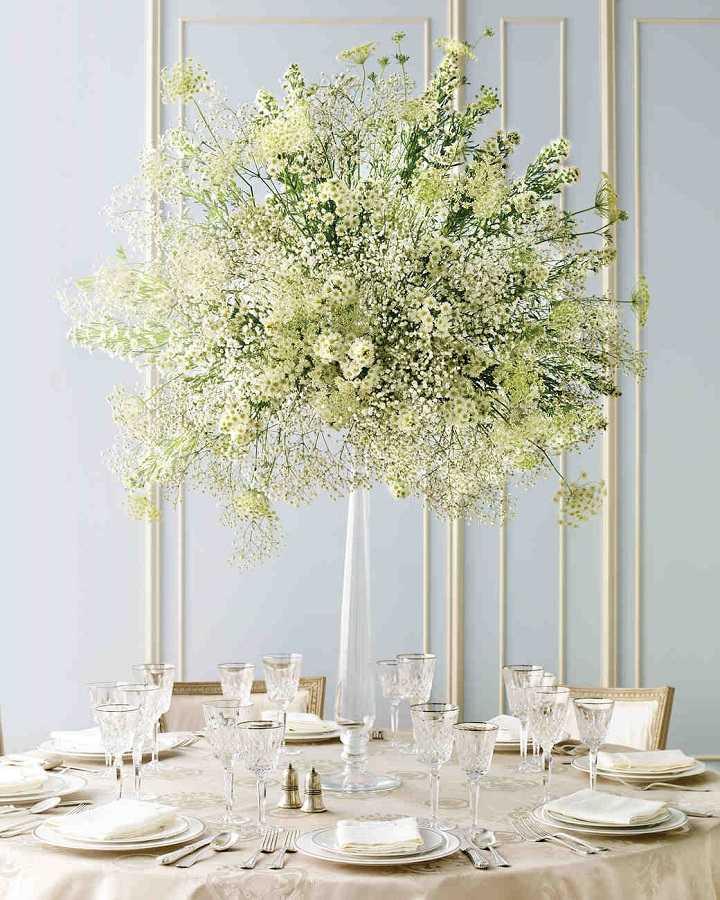 detalles de boda centros mesa