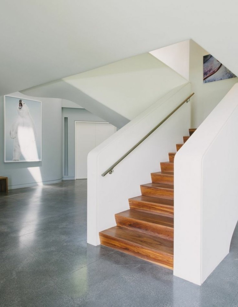 escaleras modernas para interiores