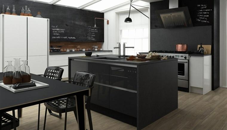 diseno-cocina-isla-negras-opciones