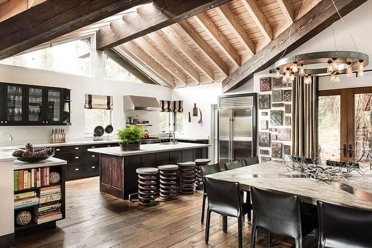 diseno-de-interiores-tendencias-2018-cocina-rusticaq