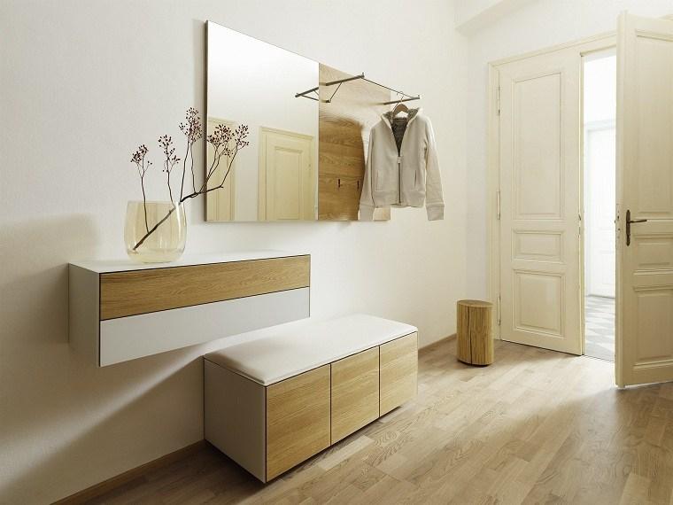 diseno-entrada-casa-muebles-blancos-estilo