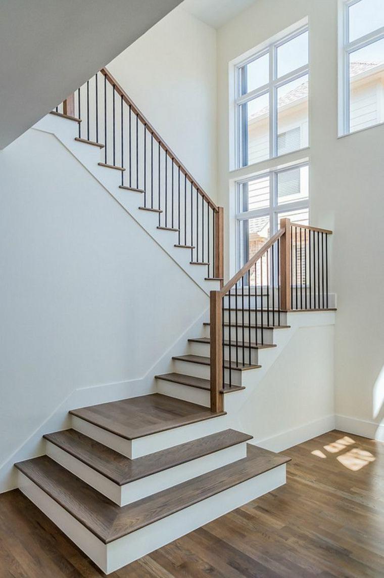 originales barandillas para escaleras
