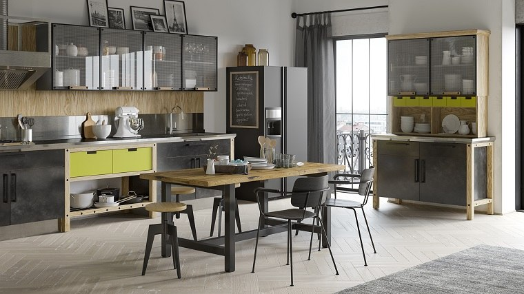 Dise o de interiores tendencias 2018 for Diseno estilo industrial