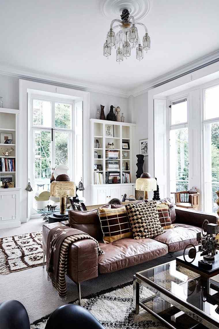 diseño interior tendencias 2018 opciones-sofa-cuero