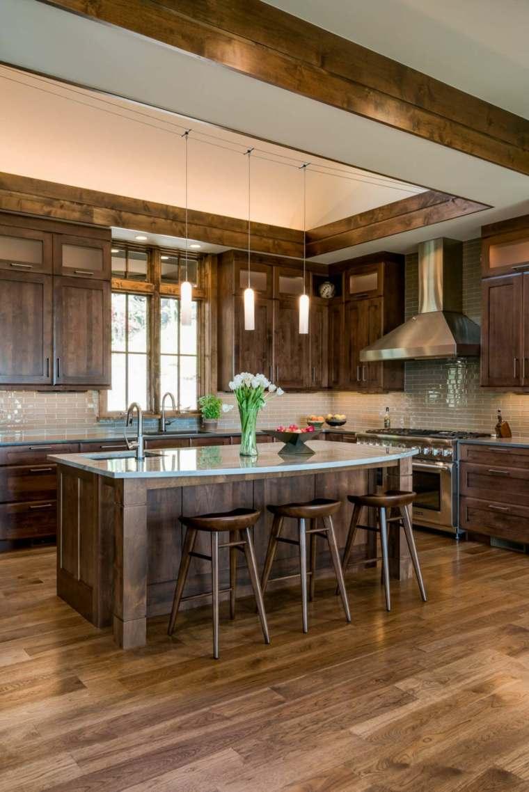 cocinas de madera de diseño