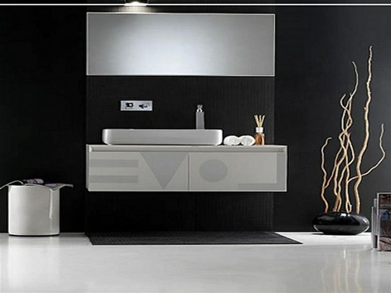 disenos de banos-elegantes-negro