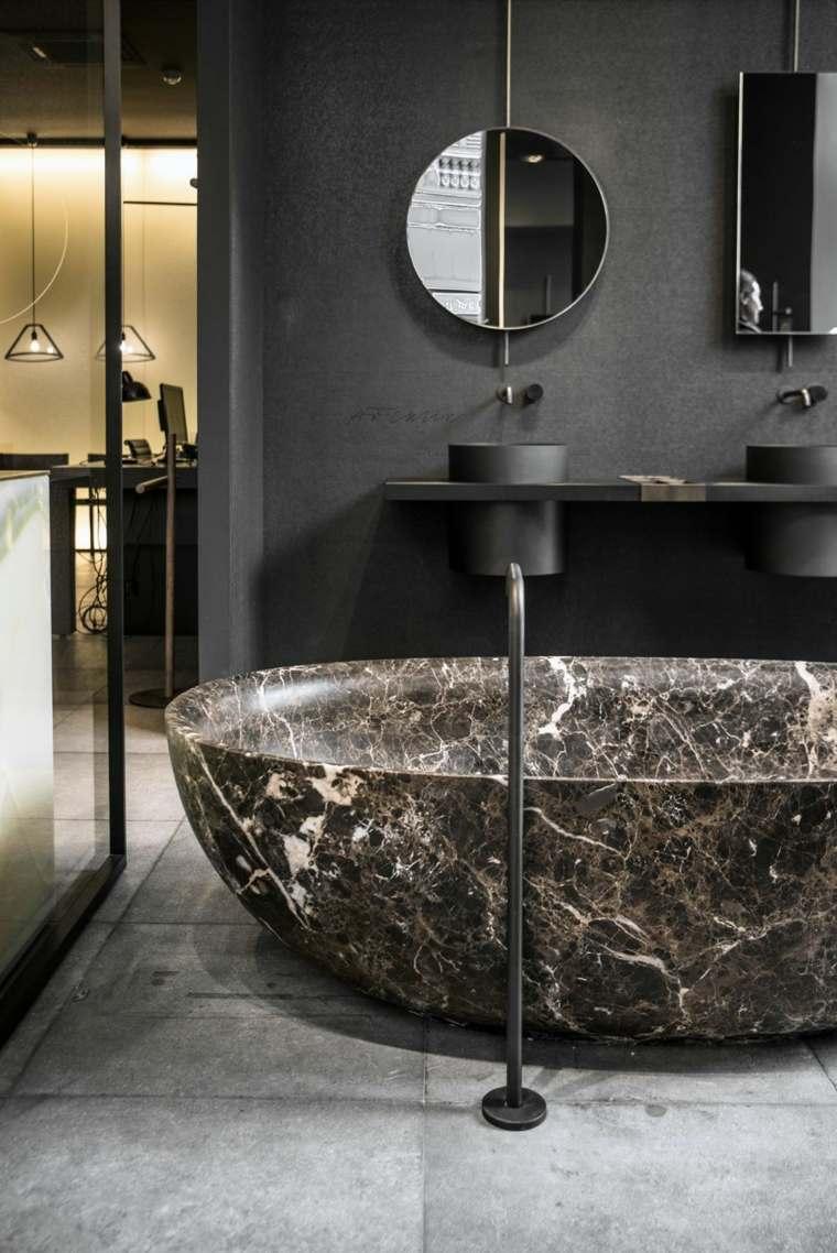disenos-de-banos-negro-marmol-estilo