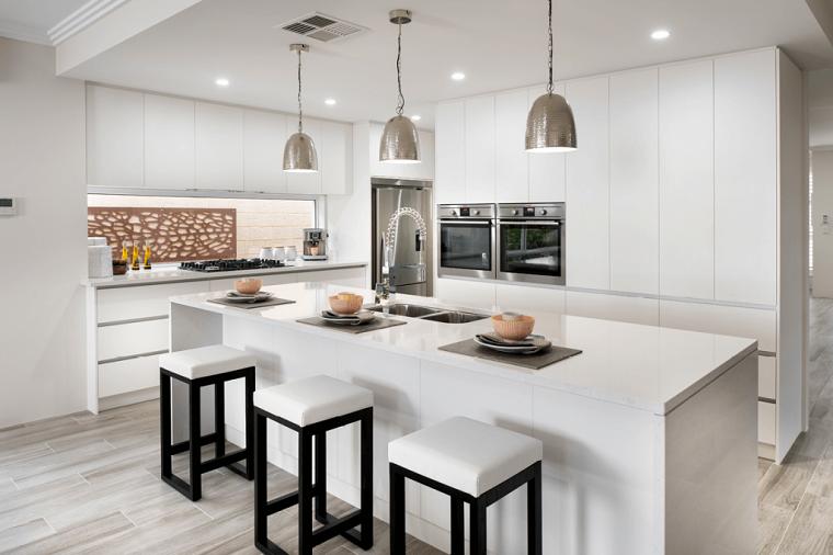 diseños de cocinas-blanco-moderno-estilo