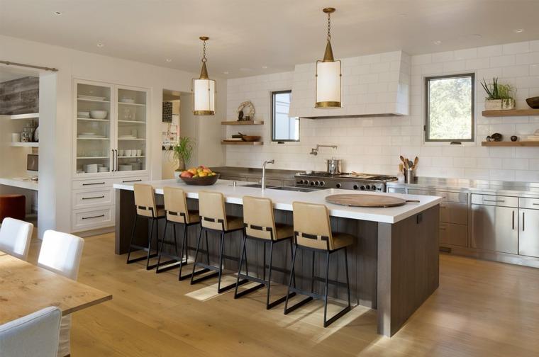 disenos-de-cocinas-muebles-isla-grande-estilo