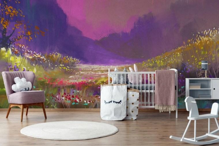 el color violeta-ultravioleta-habitaciones