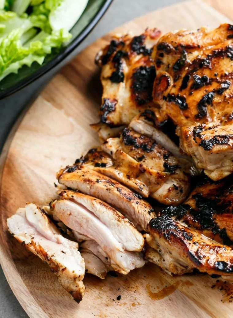 ensalada de pollo-preparar-casa