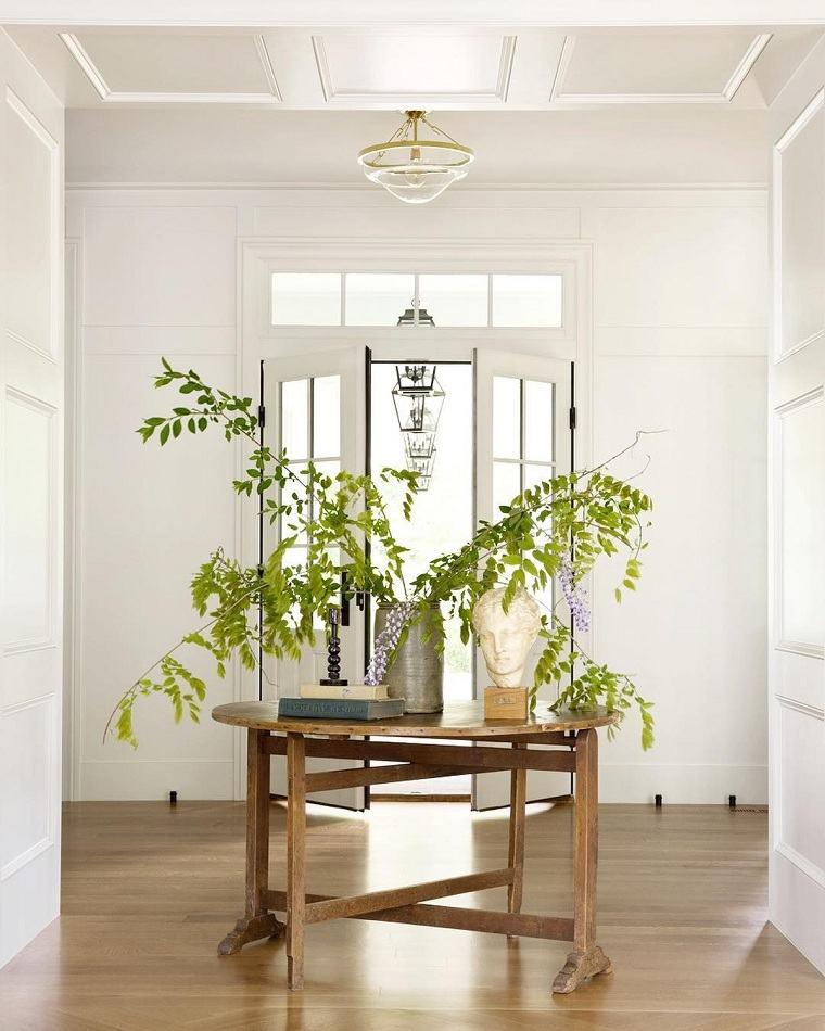 entradas modernas-mesa-pantas-decoracion