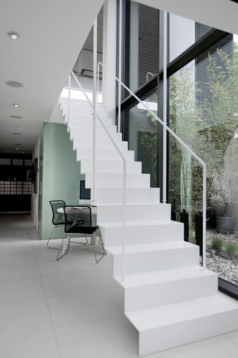 diseños de escaleras modernas para interiores
