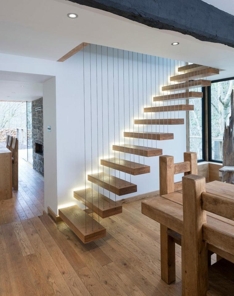 escaleras colgantes