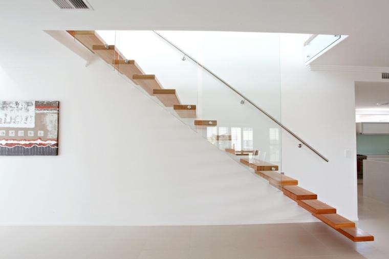 Escaleras modernas de estilo minimalista