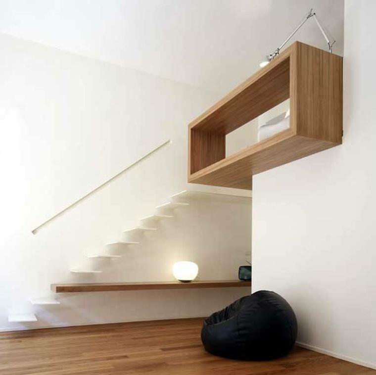 Escaleras modernas de estilo minimalista menos es m s for Escaleras minimalistas interiores