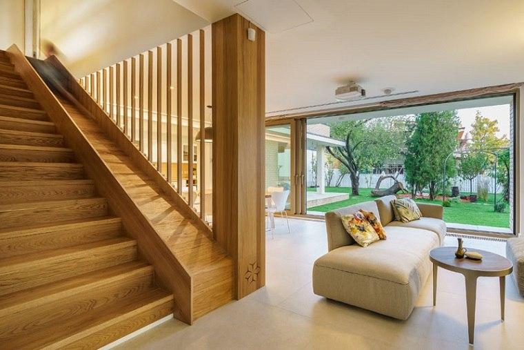 escaleras de madera ideas conceptos