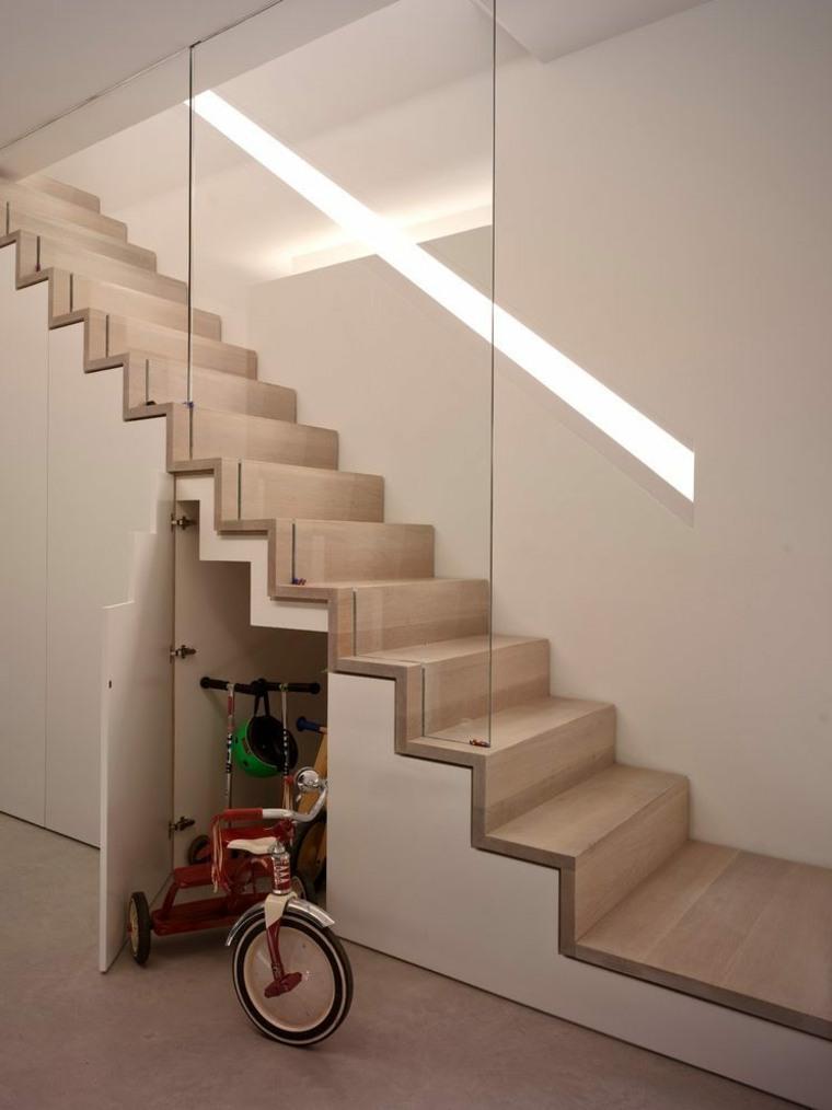 escaleras de estilo moderno
