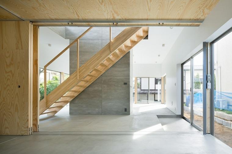 escaleras de interior de estilo moderno