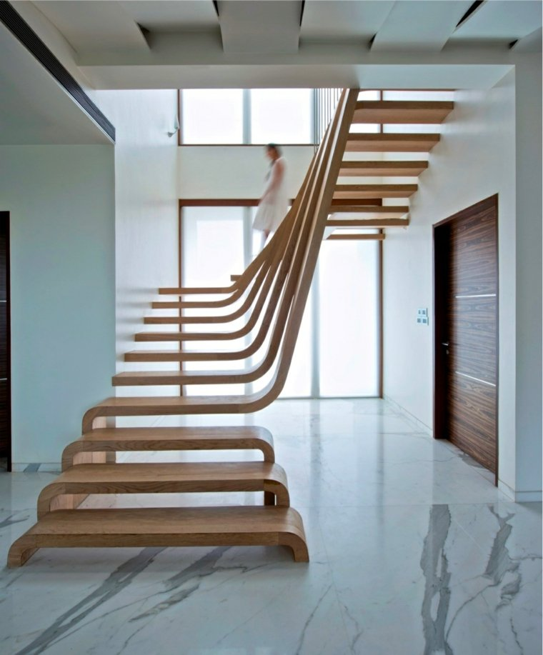 escaleras interiores modernas-decorar-casa