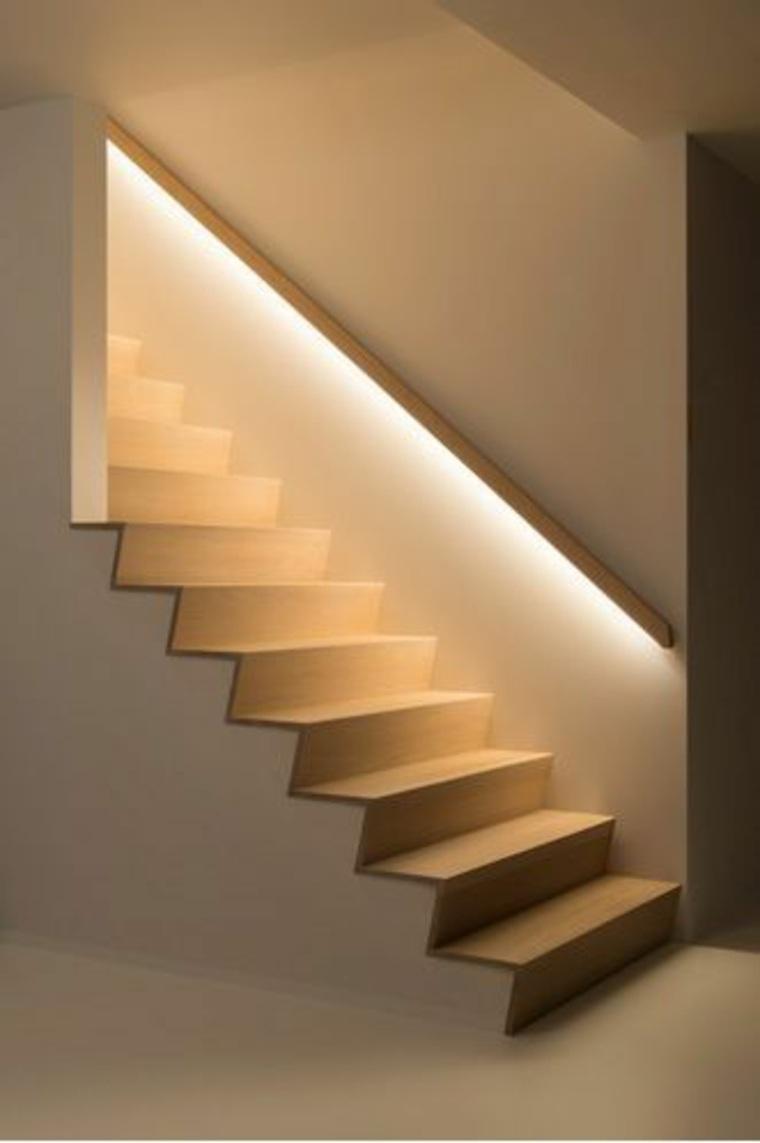 escaleras minimalistas para interior