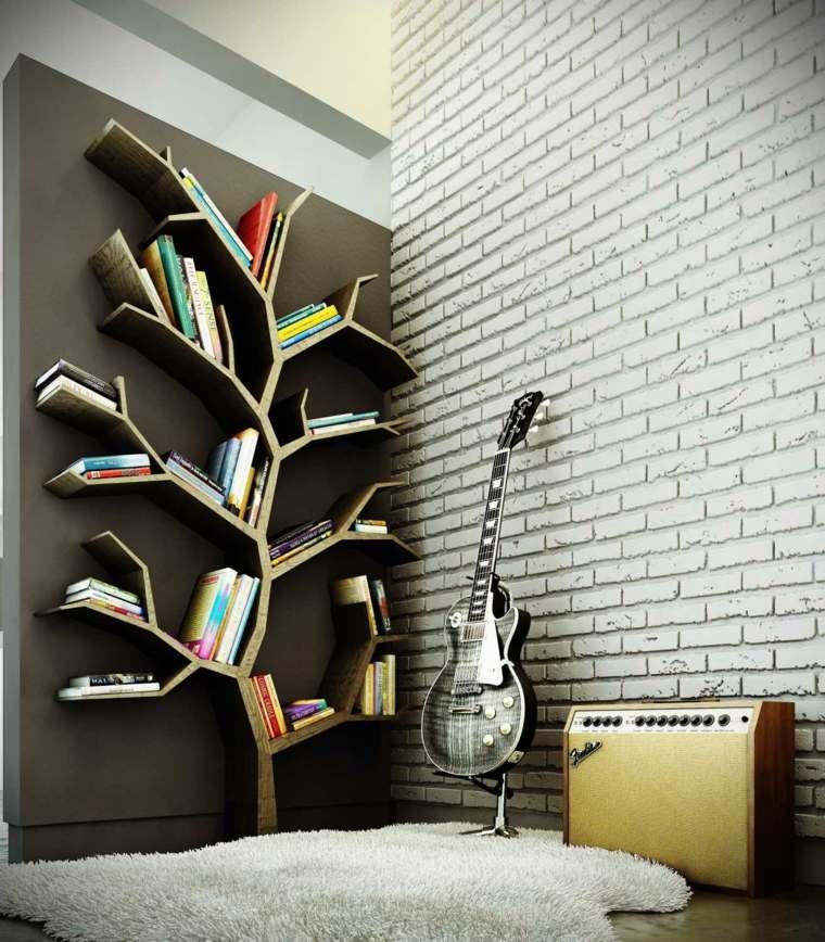 estantes para libros arbol