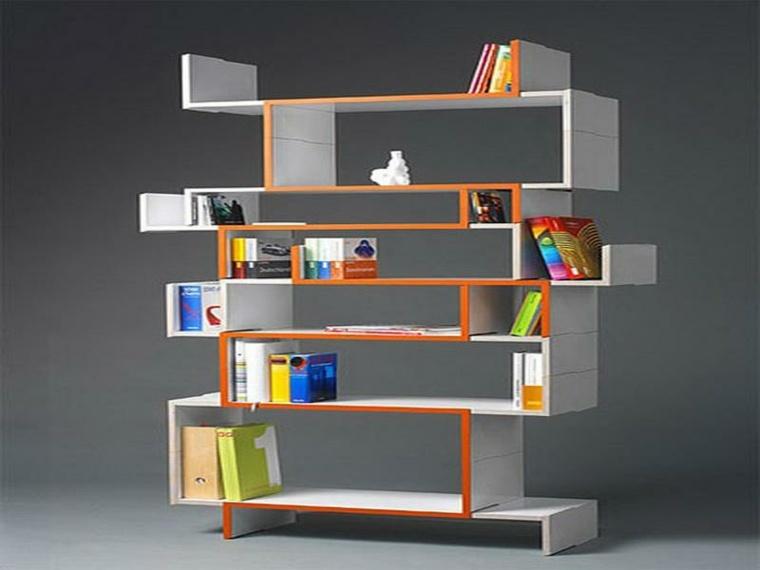 estantes para libros en-colores