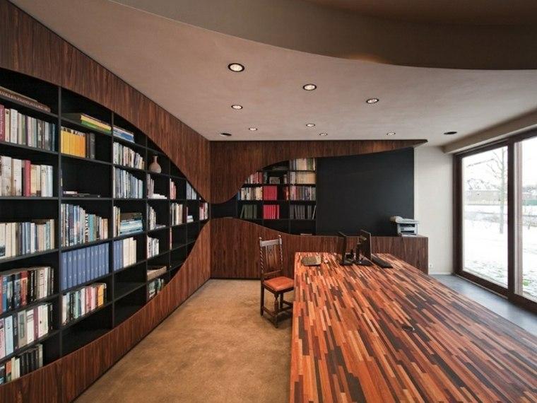 estantes para libros-ideas-oficina-casa