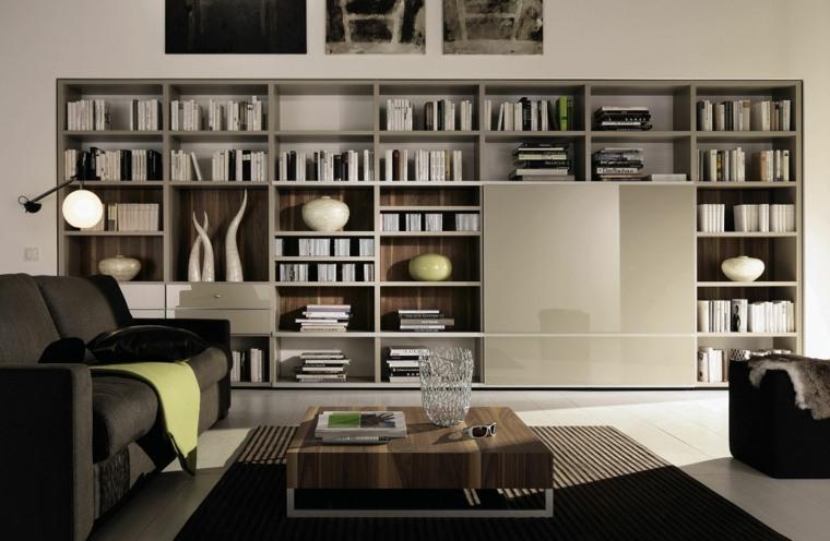estantes para libros-interiores-modernos