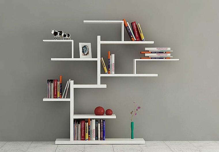 estantes para libros moderna