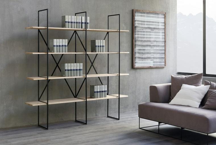 estantes para libros-modernos-interior