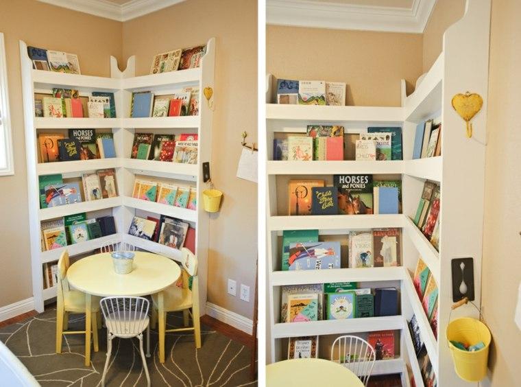 estantes para libros ordenacion