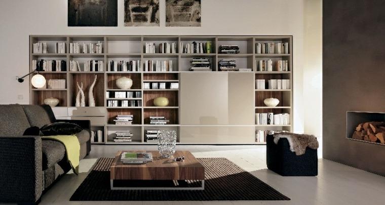 estantes para libros-sala-estar-disno-contemporaneo