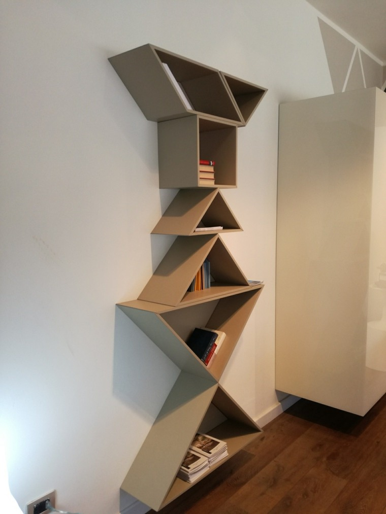estantes para libros tangram