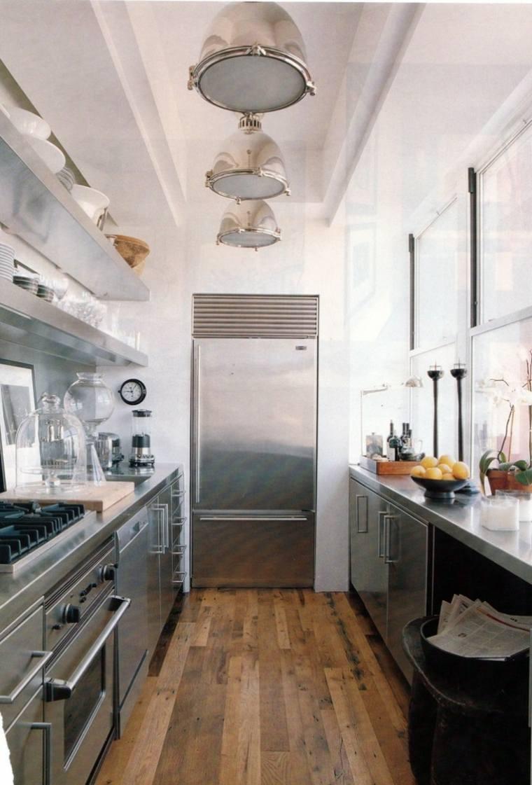 consejos de diseño para cocinas alargadas